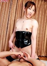 Japanese tgirl Mai Ayase gets down and dirty as she works over a horny stud then satisfy her sexual needs. This is a very kinky exclusive hardcore set