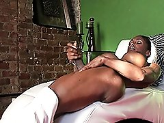 Black Natalia strokes and spreads