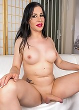 Marissa Minx is a hot tgirl with big boobs, a bubble butt and a big cock! Enjoy this sexy TS showing off her juicy ass and stroking her hard cock!
